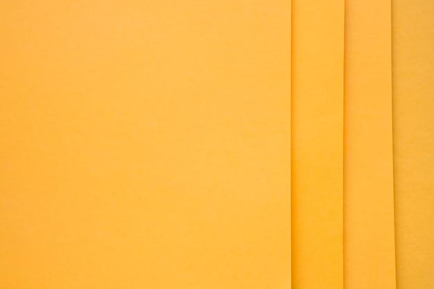 Full-frame-schuss von gelben craftapers
