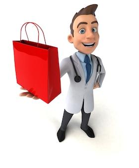 Fun doctor - 3d-charakter