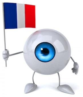 Fun eye - 3d-charakter