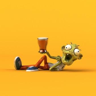 Fun zombie - 3d-charakter