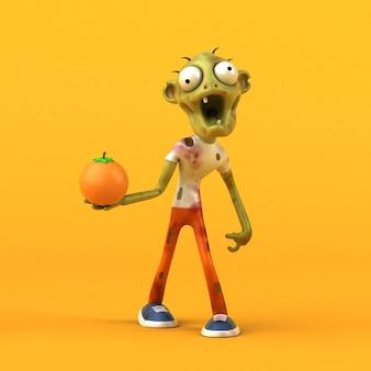 Fun zombie illustration