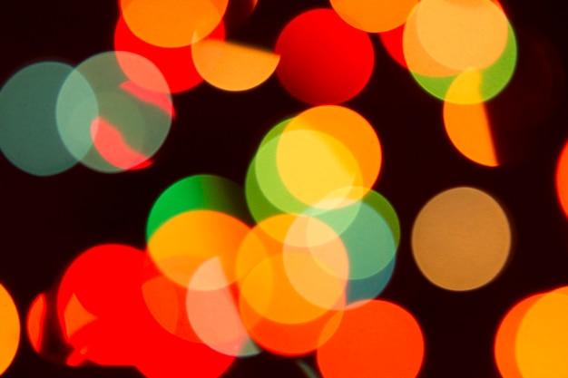 Funkeln bokeh farbe beleuchtet defocused hintergrund