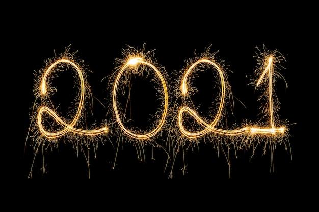 Funkelndes neues jahr 2021