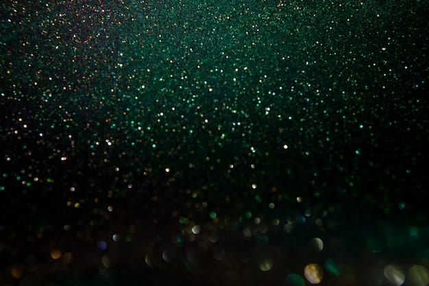 Funkelnweinleseleuchten. abstrakte dunkelheit. wundervolle lichter des funkelns.