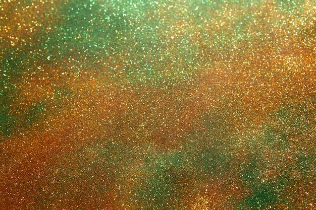 Funkelnweinleseleuchten. abstraktes gold. glitzernde, wundervolle lichter.