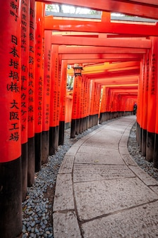 Fushimi inari-schrein in kyoto