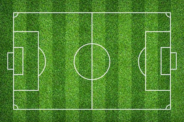 Fußballplatz oder fußballplatz für hintergrund