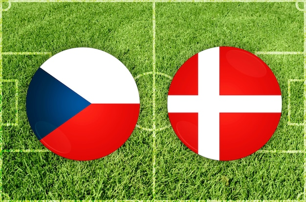 Fußballspiel tschechien gegen dänemark