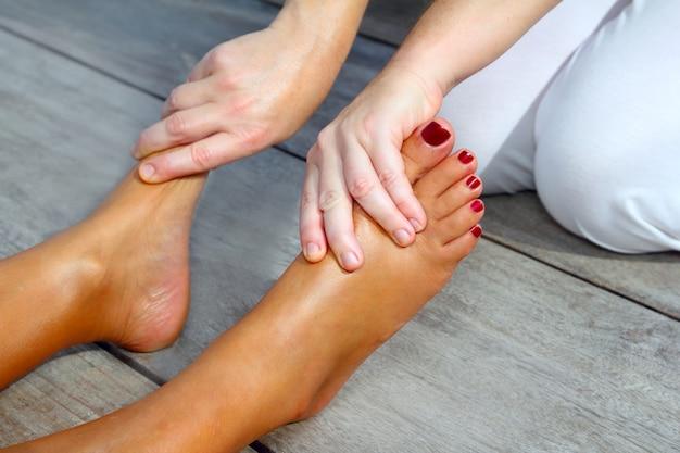 Fußreflexzonenmassagetherapie