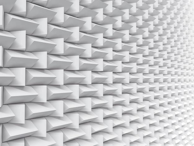 Futuristische hintergrundbeschaffenheit des weißen musters.