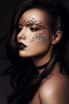 Futuristisches make-up