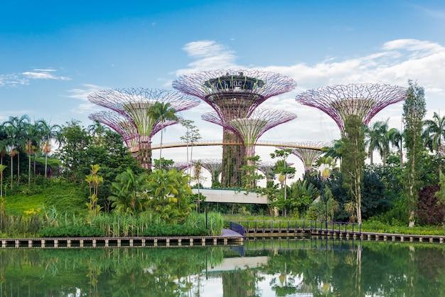Gärten an der bucht singapur