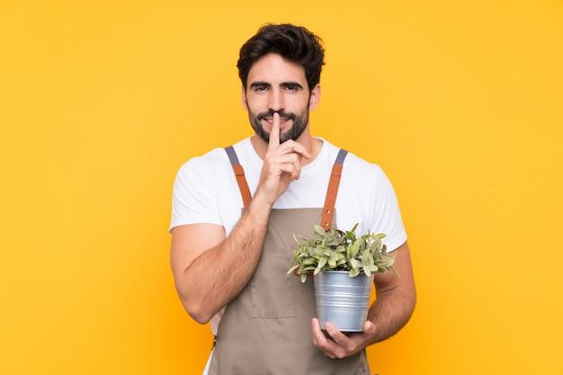 Gärtner mann