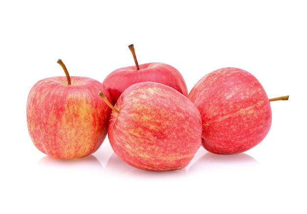 Galaäpfel isolieren auf weißem hintergrund