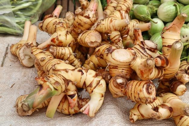 Galangal auf dem markt
