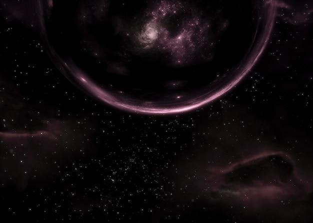 Galaxiennachtansicht