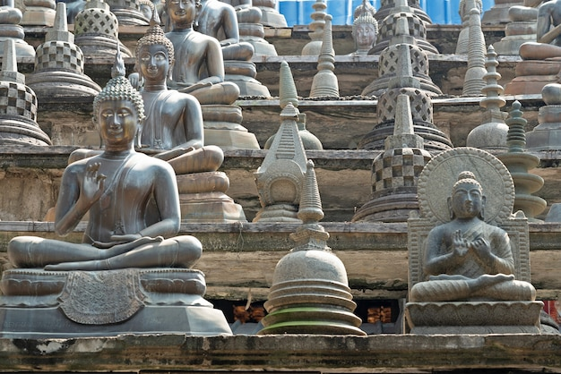 Gangaramaya buddhistische tempelarchitektur