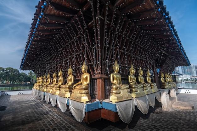 Gangaramaya seema malaka tempel in colombo, sri lanka.