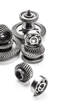 Gangmetallräder, getrennt