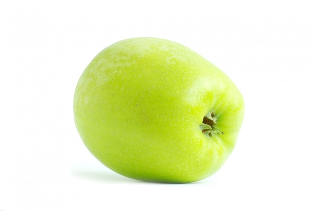 Ganzer grüner apfel