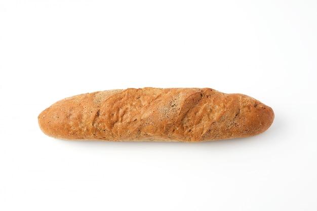 Ganzes gebackenes roggenmehl-baguette