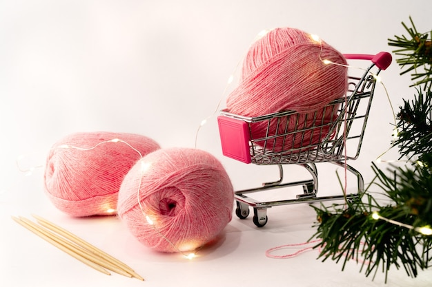Garn zum stricken und häkeln