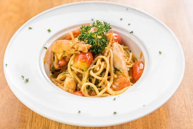 Garnelen-pasta