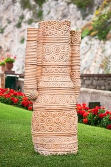 Garten von augustus capri, italien