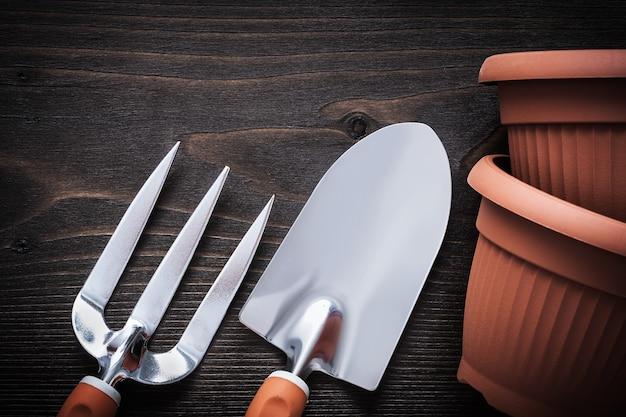 Gartenwerkzeuge Premium Fotos