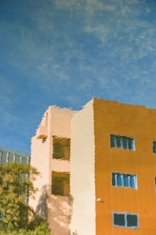 Gebäude der stadt