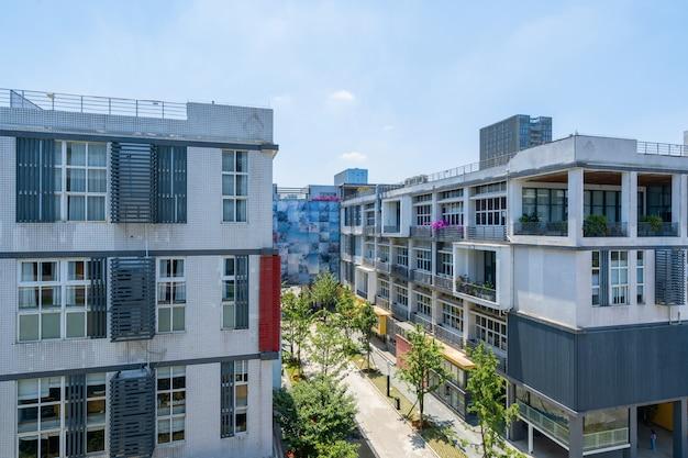 Gebäude des kultur- und kreativparks, chongqing, china