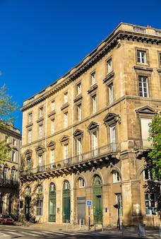 Gebäude im historischen zentrum von bordeaux - frankreich, aquitanien