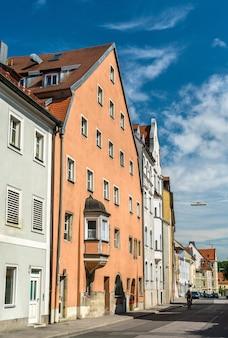 Gebäude in der altstadt von regensburg