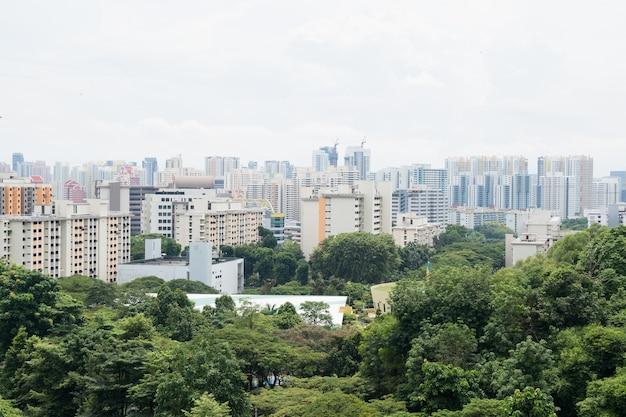 Gebäude in singapur stadt.