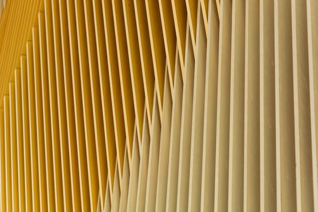 Gebäude mit abstrakten linien