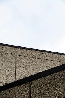 Gebäude mit grober putzoberfläche