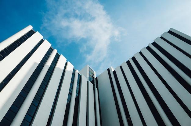 Gebäude mit minimaler architektur