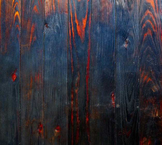 Gebrannter hölzerner brettzaun-beschaffenheitshintergrund