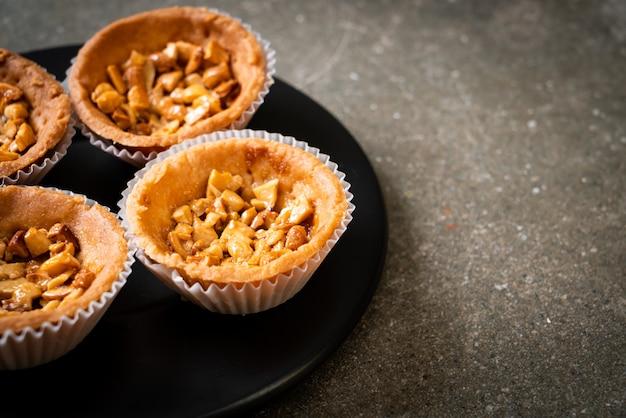 Gebratene cashewnuss-torte