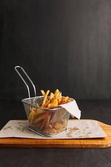 Gebratene chips