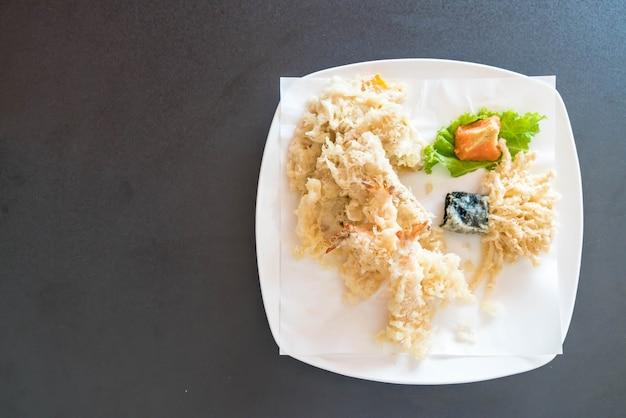 Gebratene garnelen (tempura)