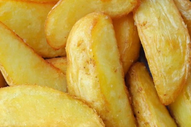 Gebratene kartoffel