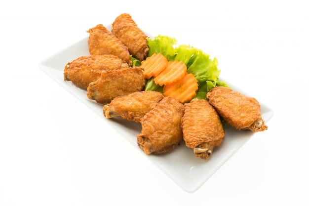 Gebratener hühnerflügel