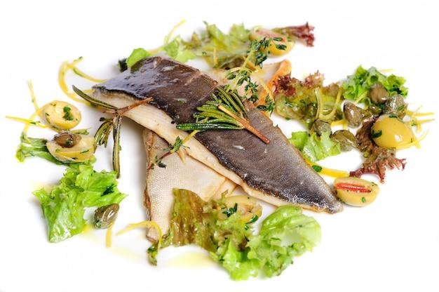 Gebratenes fischfilet