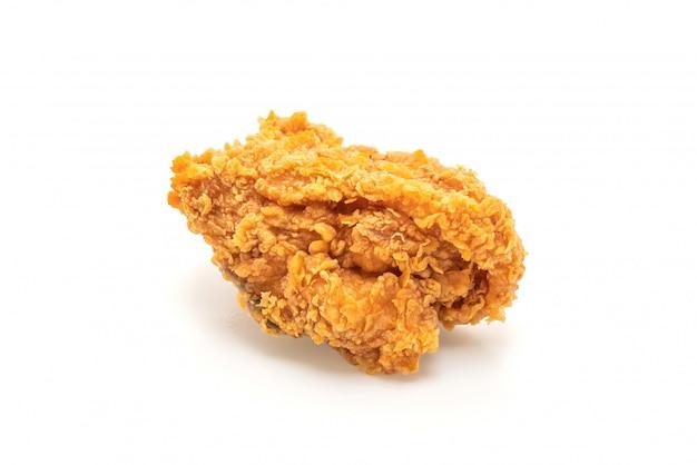 Gebratenes hähnchen (junk food und ungesundes essen)
