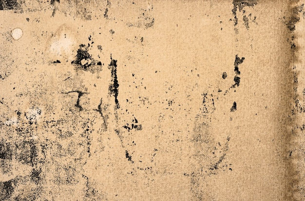 Gebrauchte papierstruktur. aquarellhintergrund mit flecken, kratzern, staub