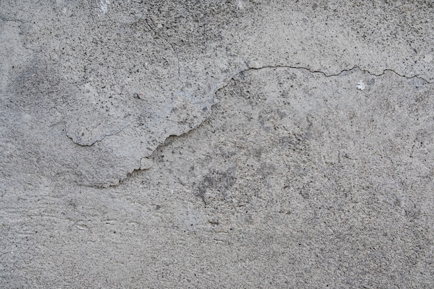 Gebrochene betonstruktur