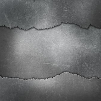 Gebrochene metallischen hintergrund