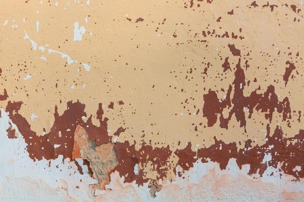 Gebrochener gemalter wandbeschaffenheitshintergrund der alten weinlese