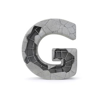 Gebrochenes konkretes Alphabet G